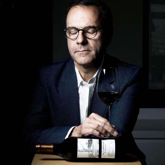 Jerôme Malet, dans ses bureaux parisiens. Propriétaire de Sarda Malet, à Perpignan, il a décidé de mettre un terme à la production et s'est installé à Montbrison-sur-Lez dans la Drôme, au Domaine de Fontbonau.