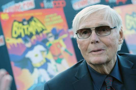 Adam West à la New York Comic-Con, le 6 octobre 2016.