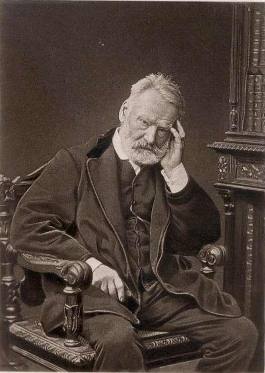 Photogravure de Victor Hugo