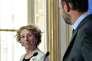 La ministre du travail Muriel Pénicaud et le premier ministre Edouard Philippe annoncent leur réforme du droit du travail, le 6 juin.