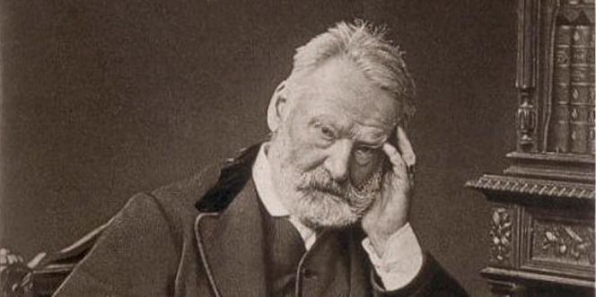 Photogravure de Victor Hugo.