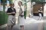 Nathalie Kosciusko-Morizet, candidate aux législatives dans la 2e circonscription de Paris, avec Florence Berthout, maire du 5e arrondissement, dimanche 11 juin.