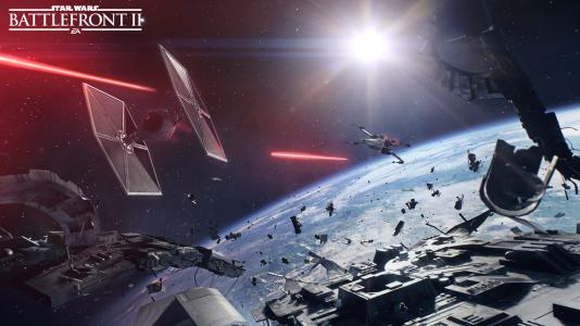 La première mission présentée se déroule dans l'espace, après la fin de «Star Wars VI».