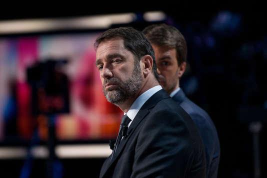 Christophe Castaner, le 11 juin, au soir du premier tour des élections législatives.