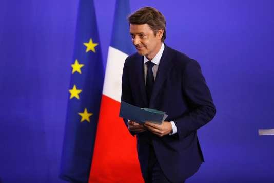 François Baroin, chef de file Les Républicains pour les élections législatives, à Paris, le 11 juin.
