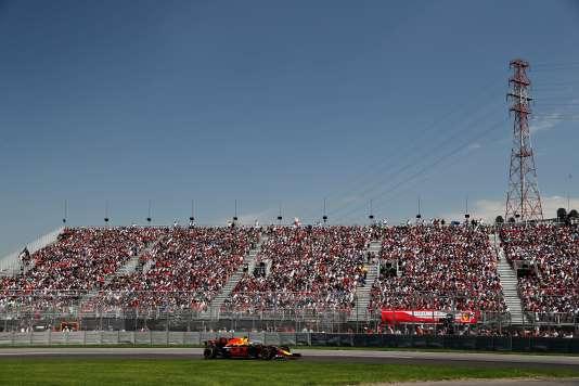 Daniel Ricciardo (Red Bull) termine 3e du Grand Prix du Canada, le 11 juin à Montréal.