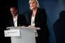 Henin beaumont le 11 juin 2017. Soirée electorale du Front National // Discours de Marine Le Pen