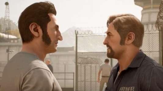 « A Way Out», une allure extérieure de série télé, pour un jeu qui casse les codes formels du jeu vidéo.