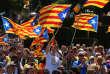 Manifestation en faveur de l'indépendance de la Catalogne, à Barcelone, le 11 juin.