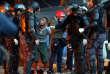 Lors d'une opération de police à«Cracolandia», à Sao Paulo, le 11 juin.