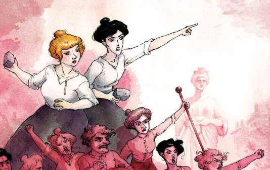 «La révolte des ovalistes», dessin de Nathalie Vessillier.
