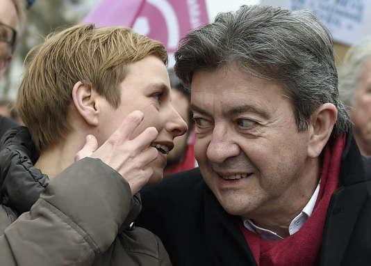 Clémentine Autain et Jean-Luc Mélenchon sont les deux candidats de la gauche radicale qui disposent de l'avance la plus confortable sur leur adversaire en vue du second tour des élections législatives, le 18 juin.