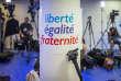 Soirée de résultats du premier tour des élections législatives au siège de La République en marche à Paris, le 11 juin.