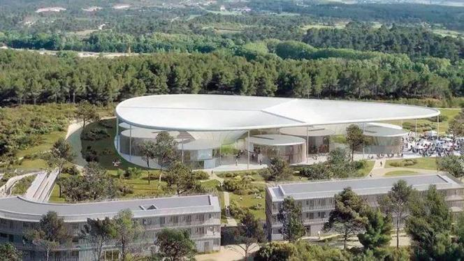 The Camp, le campus numérique situé aux portes d'Aix dans le quartier de la Duranne, offrira une architecture résolument futuriste signée Corinne Vezonni.