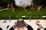 Le dirigeant de l'agence de protection de l'environnement (EPA) Scott Pruitt lors de la rencontre ministérielle du G7, à Bologne le 11 juin.