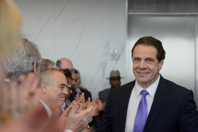 Le gouverneur de New York, Andrew Cuomo, le 9 janvier.