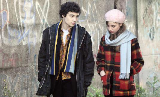 Quentin Dolmaire et Lou Roy-Lecollinet dans«Trois souvenirs de ma jeunesse», d'Arnaud Desplechin.