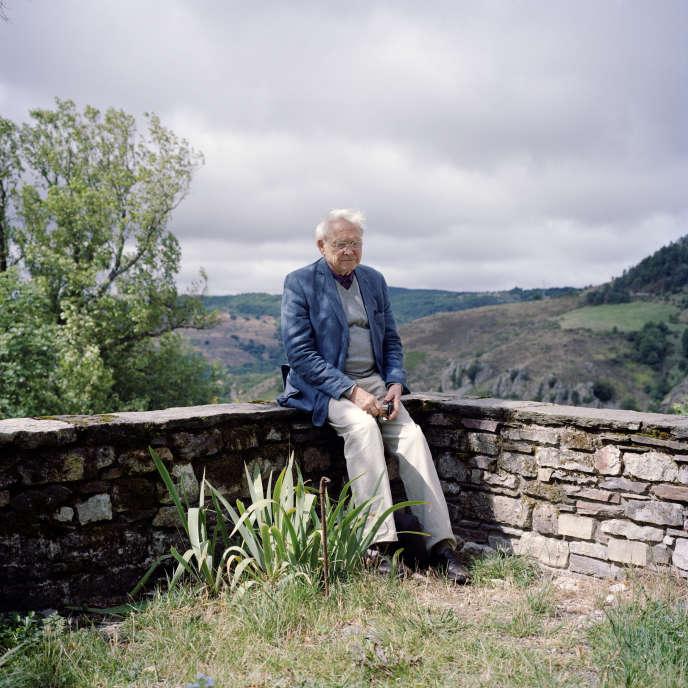 L'écrivain, poète, éditeur et critique de jazz Jacques Réda.