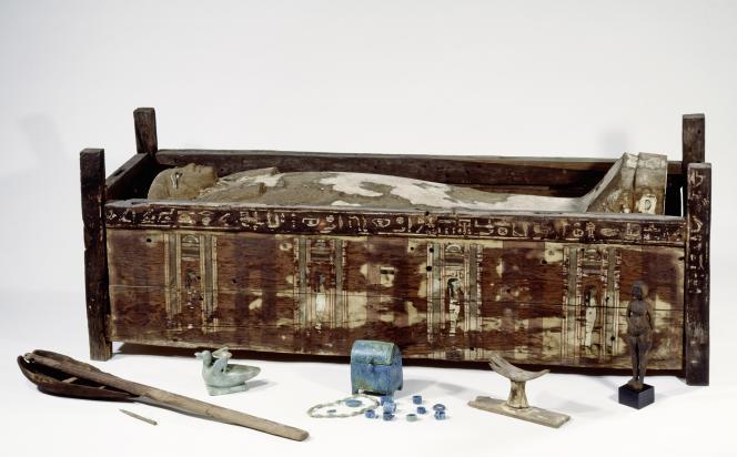 Sarcophage deTadja, à Abousir Al-Malek.
