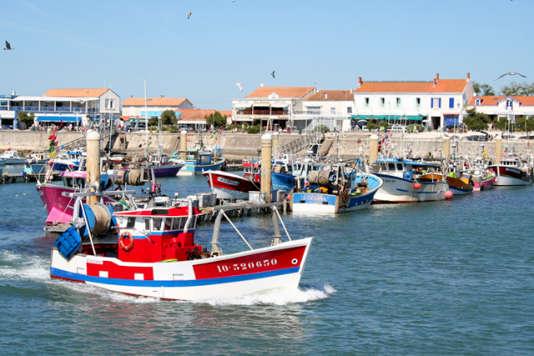 Le port de La Cotinière.