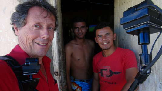 Antoine de Maximy au Nicaragua.