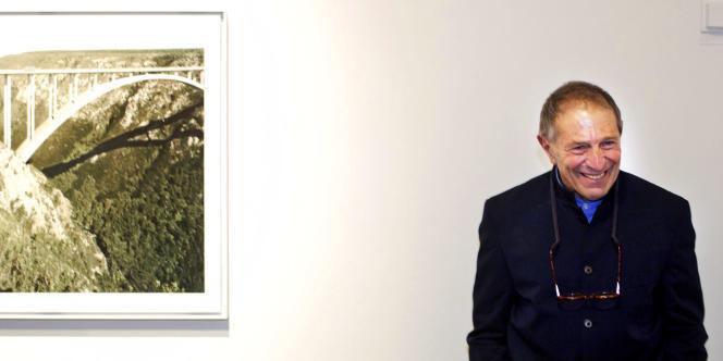 Le photographe sud-africain David Goldblatt, en novembre 2006, à Goteborg, en Suède.