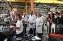 «La participation effective des salariés aux plus hautes instances de décision est donc un facteur de vitalité démocratique» (Photo: le premier ministre Edouard Philippe et la ministre du travail Muriel Pénicaud à Saint-Ouen-l'Aumône, le 13 juin, visitent l'usine Telma).