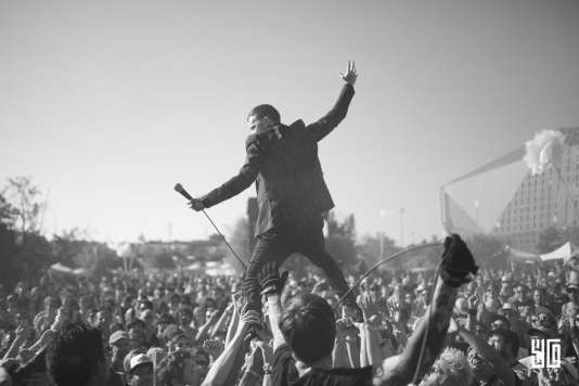 Les Londoniens Frank Carter & the Rattlesnakes, dimanche 11 juin, sur la scène Flamingo du festival This is Not a Love Song.