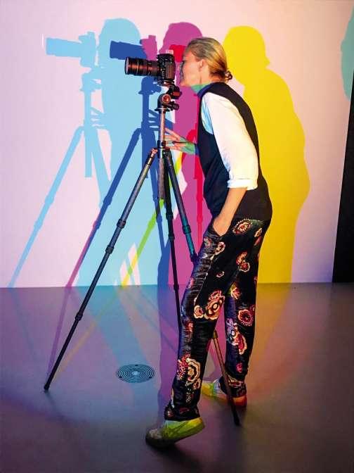 La photographe Viviane Sassen.