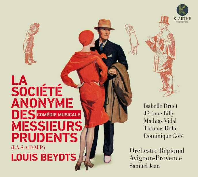 Pochette de l'album « La Société anonyme des messieurs prudents», musique de Louis Beydts.