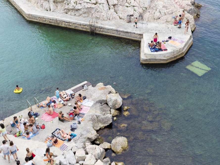 Le Vallon des Auffes, petit port de pêche du quartier d'Endoume.