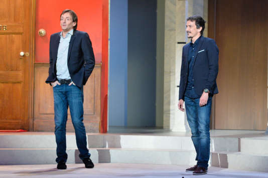 Pierre Palmade et Arnaud Tsamere.
