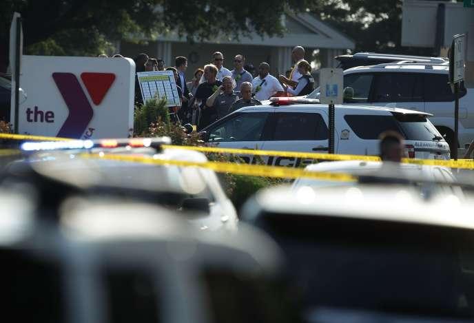 La police d'Alexandriaa précisé que le tireur avait été arrêté et qu'il n'était « plus une menace ».