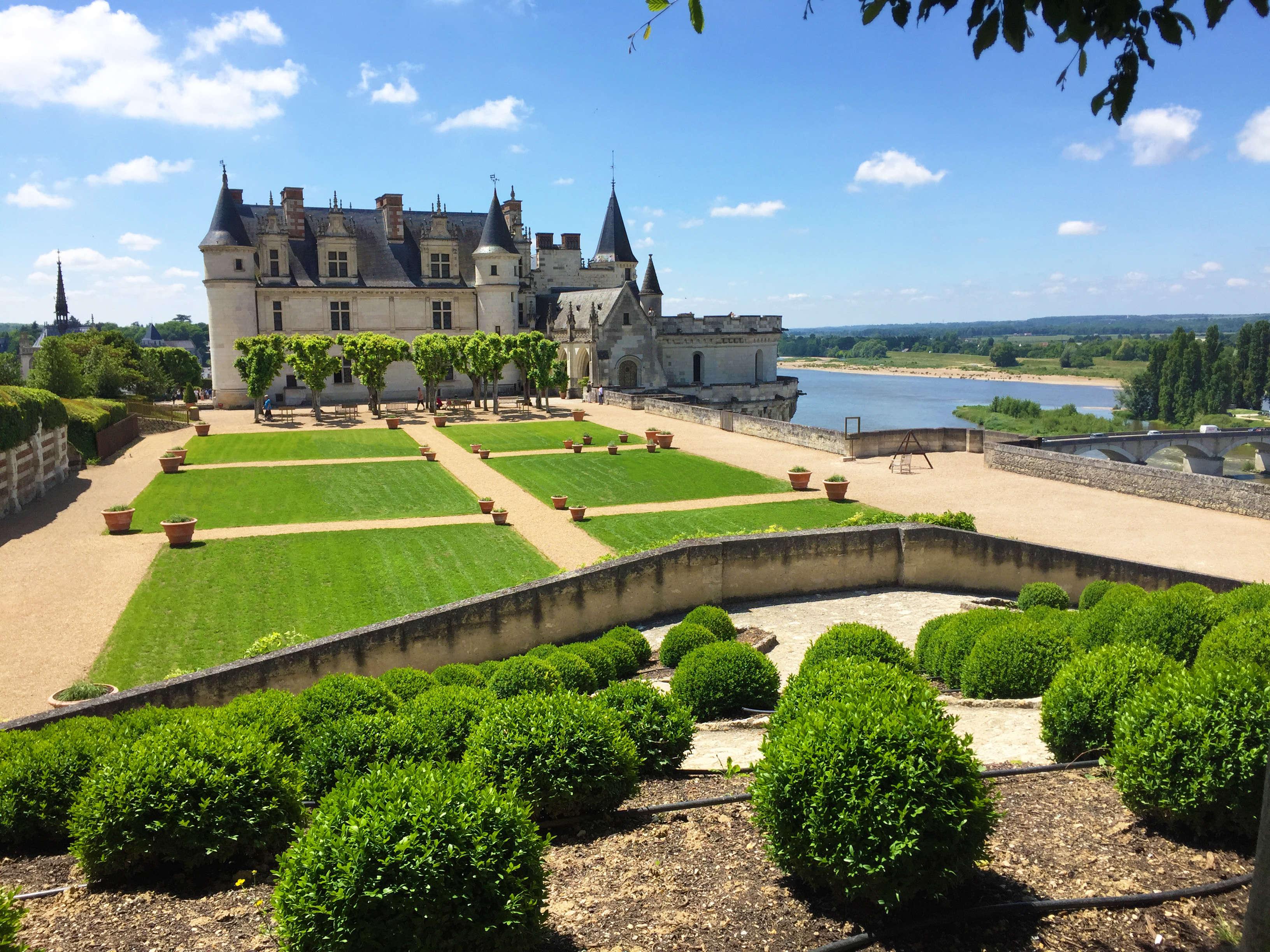 Un jardin de naples au ch teau d amboise for Au jardin des malentendus