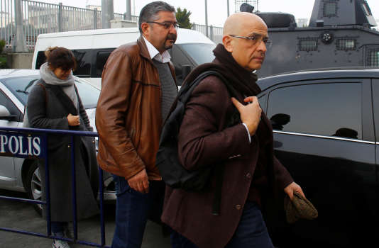 Enis Berberoglu, le 1er mars à Istanbul.