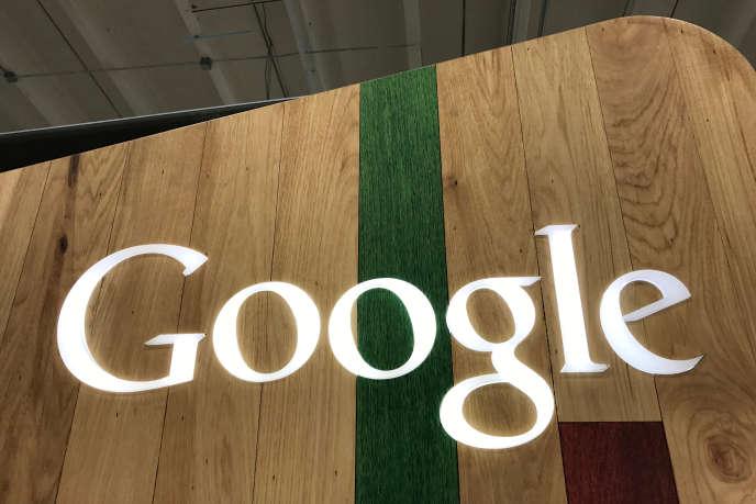« Pour les années de 2009 à 2015, Google s'est engagé à verser 306millions d'euros de taxes» (Photo: àLos Angeles, le 24 mars).