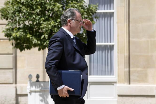 Richard Ferrand, ministre de la cohésion des territoires, va quitter son poste au gouvernement pour prendre la présidence du groupe La République en marche à l'Assemblée nationale.