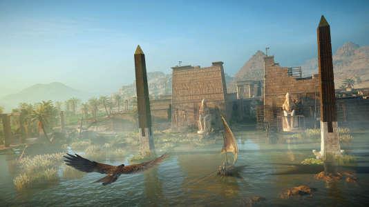 Le tourisme autrement : visiter l'Egypte transformé en aigle. Consultez notre brochure.