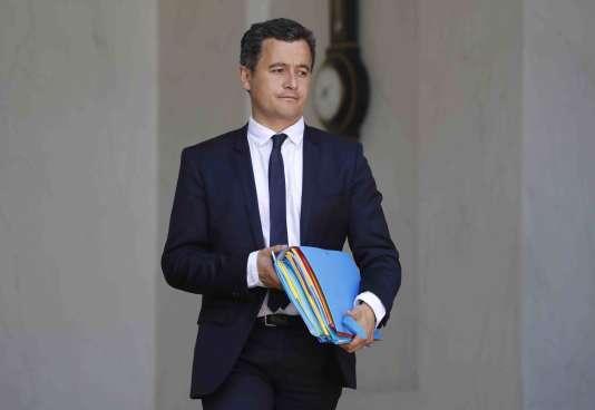 Le ministre de l'action et des comptes publics Gérald Darmanin à L'Elysée, le 14 juin.