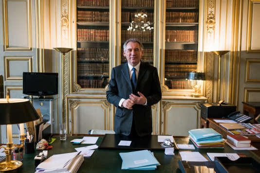 Le garde des sceaux, François Bayrou, à Paris, le 13 juin.