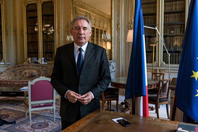 Le ministre de la justice, François Bayrou, le 13 juin 2017.