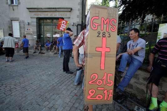 GM&S Industry: nouveau sursis mais pas d'offre ferme de reprise