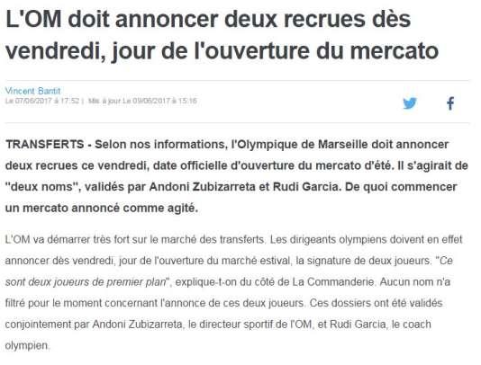 Eurosport« selon nos informations» .fr