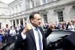 Leo Varadkar devantLeinster House, le Parlement irlandais, à Dublin, le 14 juin.