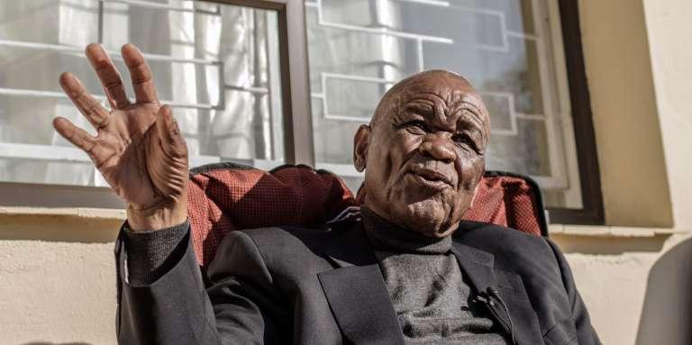 Thomas Thabane, leader de la Convention des Basotho, à Maseru, au Lesotho, le 31mai 2017.