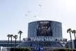 "IMAGE DISTRIBUTED FOR ACTIVISION - An aerial flyby show over Los Angeles for Activision's upcoming blockbuster, ""Call of Duty: WWII"" during E3 2017 at the Los Angeles Convention Center on Tuesday, June 13, 2017, in Los Angeles. (Photo by Colin Young-Wolff/Invision for Activision/AP Images)"
