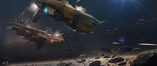 Les joueurs devraient pouvoir gérer leur propre vaisseau spatial et son équipage.