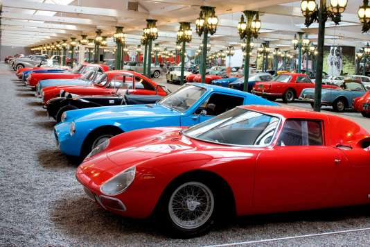 La fameuse collection Schlumpf et ses plus de 400 véhicules, à la Cité de l'automobile, à Mulhouse.