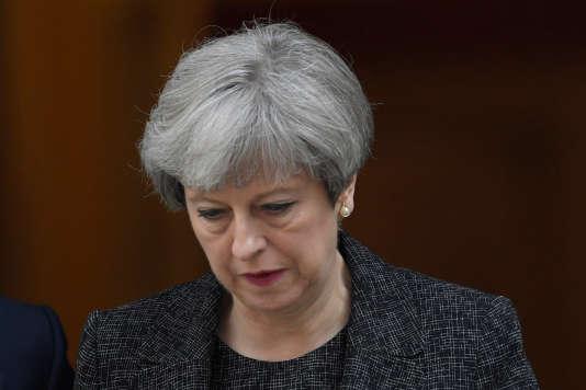 Theresa May, la première ministre britannique, à Londres, le 15 juin 2017.
