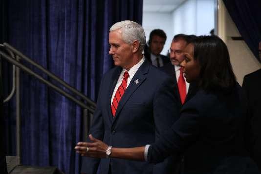 Le vice-président états-unien, Mike Pence, le 15 juin à Miami (Floride).